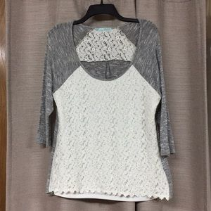 Maurices Lace Shirt